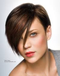 short hairstyles with long fringe new hair style collections