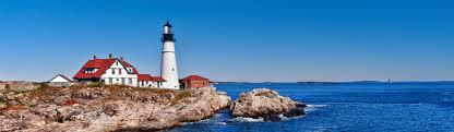 Cape Elizabeth Lights Lighthouses Near Portland Maine Inn By The Sea