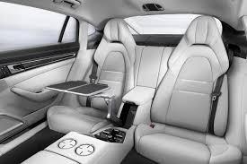 porsche panamera 2017 2017 porsche panamera turbo interior folding seats autobics