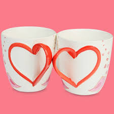 heart shaped mugs that fit together 56 best unique cups images on mugs