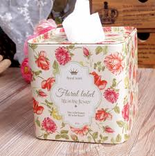 decorations luxury tissue boxes for home decorations creative
