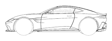 pagani drawing patent filing could reveal design for next aston martin vantage