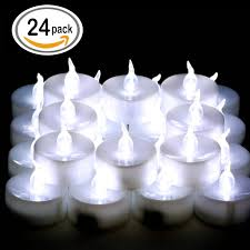 omgai 24 pcs led tea lights candles battery powered
