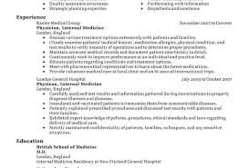 resume sle for doctors mbbs resume sle medical doctor sle for physician sles toreto