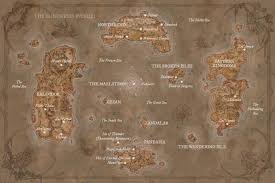 kalimdor map so azeroth is now fully mapped of warcraft forums