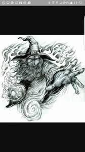 free wizard free wizard tattoo designs tattoos pinterest