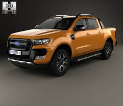 Ford Ranger Design Ford Ranger Super Cab Xlt 2015 3d Model Hum3d