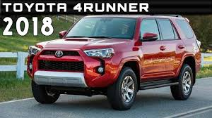 toyota msrp 2018 toyota 4runner review rendered price specs release date youtube