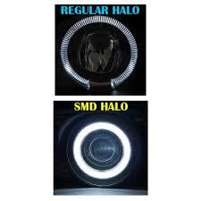 2008 dodge ram 1500 led fog lights dodge ram 2002 2008 smd led halo projector fog lights a1019do2169