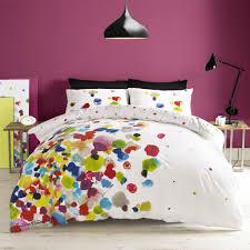 Ocean Bedspread Bedroom Queen Bed Box Spring Upholsterd Headboard Wedge Pillows