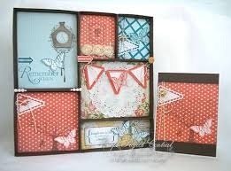 shadowbox and greeting card sting with kris