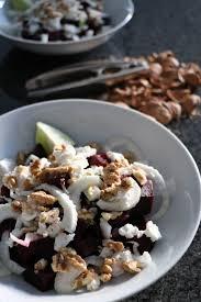 cuisiner du fenouil frais the cook salade de betteraves fenouil chèvre frais et noix