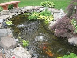 easy backyard pond kits design and ideas
