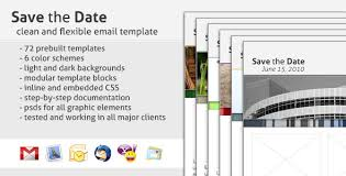 save the date emails save the date email template by creekjumper themeforest