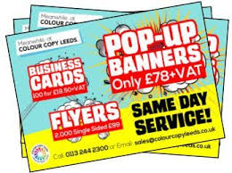 Business Cards Leeds Same Day Printing Colour Copying Colour Copy Leeds