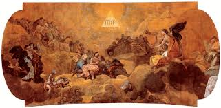 file adoration of the name of god by goya jpg wikimedia commons