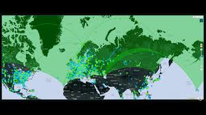 Ingress World Map by Green Marble The Biggest Ingress Operation So Far It Was