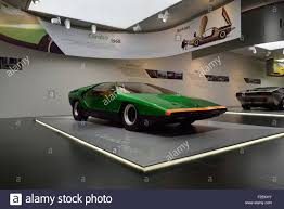 1968 alfa romeo bertone carabo concept at the alfa romeo museum in