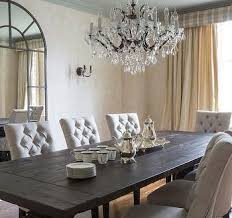 best tufted dining chairs transitional dining room ashley goforth