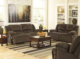 avery modern brown microfiber recliner sofa couch set living room