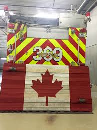 Proper Flag Placement Canadian Fire Hose Flag