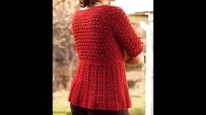 crochet sweater men youtube