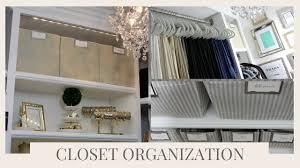 home organization master closet organization tips u0026 tour youtube