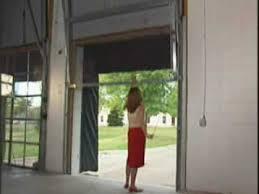 Overhead Security Door Bug Blocker Chainlink Overhead Security Screen Door Pest