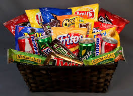 snack basket snack pack gratitude goodies