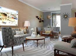 Mid Century Modern Living Room Chairs Interior Design White And Gray Mid Century Modern Living