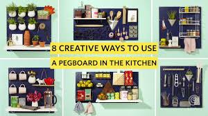 8 ways to use a pegboard to make your kitchen better kitchn