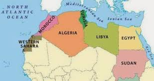tunisia on africa map political map of africa free printable maps