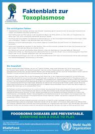 immunschwäche symptome toxoplasmosis fact sheet