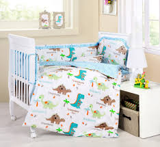 Unisex Nursery Bedding Sets by Baby Bedding Crib Cot Sets Cute Dinosaurs Theme Baby Nursery