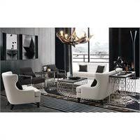 armen living coffee table armen living skyline coffee table in charcoal lcskcoblmt
