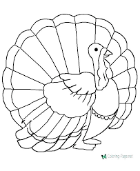 coloring pages of turkeys wild turkey coloring pages printable kids coloring turkey for