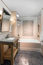 529 best bathroom images on pinterest bathroom ideas bathroom black bathroom floor tile noir hex travertine mosaic tile https www