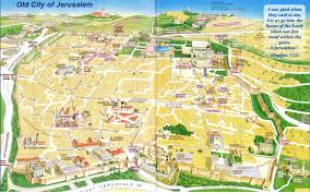 Old San Juan Map Old City Jerusalem Map Jerusalem Pinterest Jerusalem And Israel