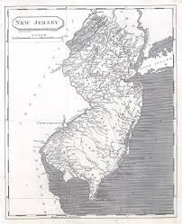 New York Central Railroad Map by Antique Maps Of New Jersey