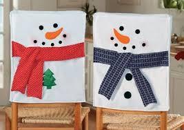 snowman chair covers respaldos de sillas de comedor pinteres