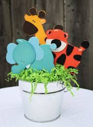 Safari Baby Shower Centerpiece by Jungle Safari Party Centerpiece Baby Shower Party Centerpiece