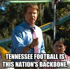 Tennessee Football Memes - tennessee football is this nation s backbone cam brady ut