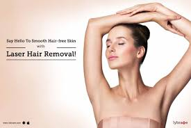 say hello to smooth hair free skin with laser hair removal by