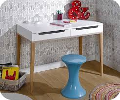 bureau fille et blanc bureau blanc et bois awesome bureau blanc et bois with bureau blanc