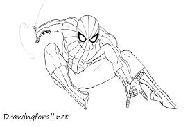 draw spider man drawingforall net