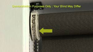 how to install face mounted roller blind youtube