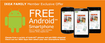 free samsung galaxy s4 mini and other android phones for ikea