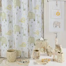creative bath animal crackers shower curtain collection