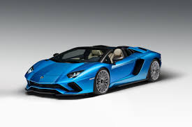 blue lamborghini aventador price 2018 lamborghini aventador s roadster revealed specs pics and price