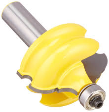 yonico 16127 classical and bead molding and edging router bit 1 2